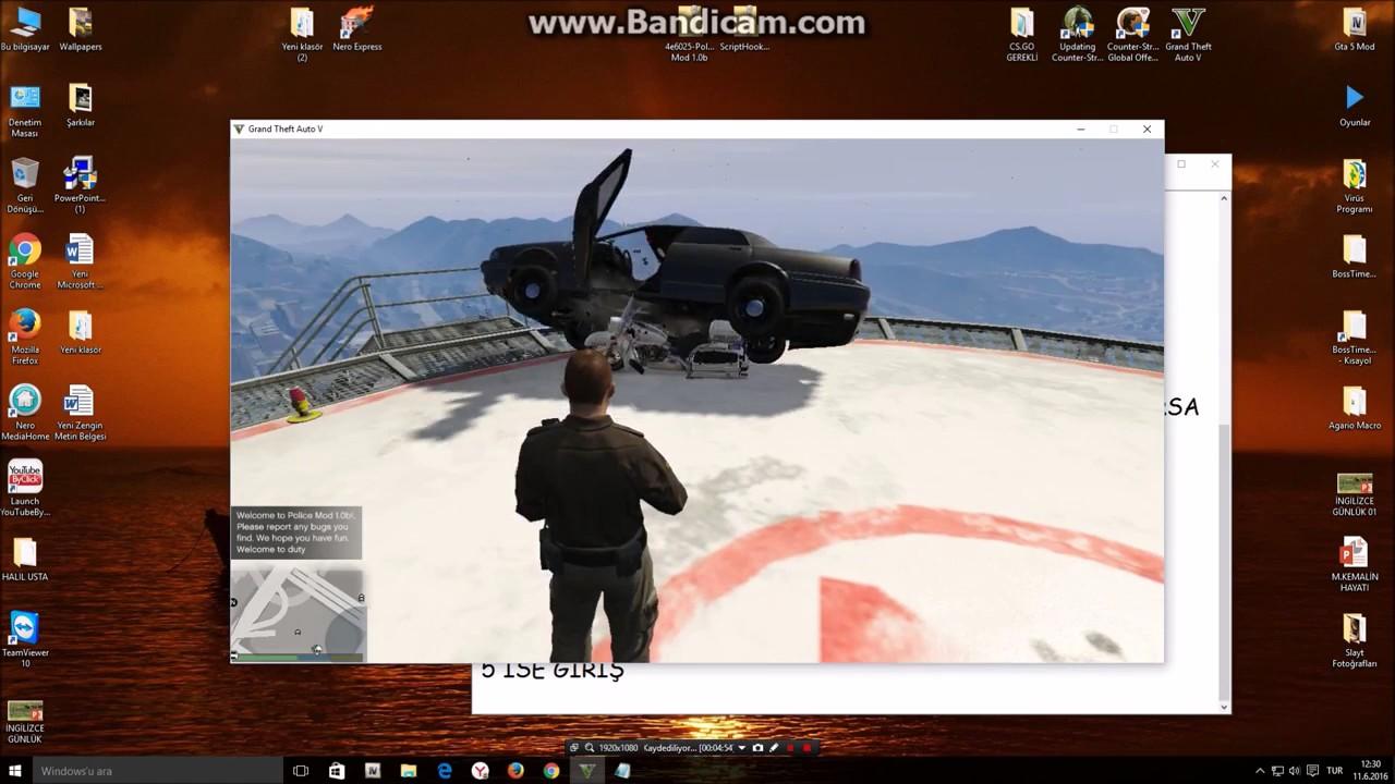 GTA5 POLİS MOD NASIL KURULUR HOW TO İNSTALL POLİCE MOD