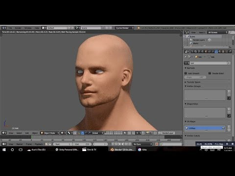 Sculptris - Sculpting Realistic Male Head