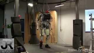 Военные роботы США 180514 480p(Как вы думаете, как можно использовать таких роботов? А если их немного модернизировать? Boston Dynamics не дремлет!, 2014-05-17T22:37:50.000Z)