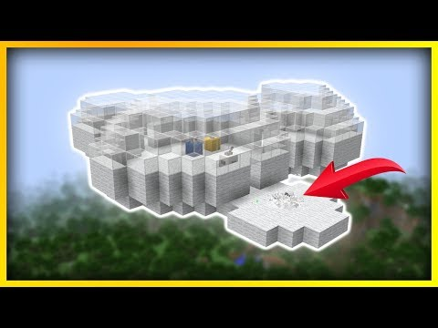 Minecraft - How To Build A Commandblock CLOUD HOUSE