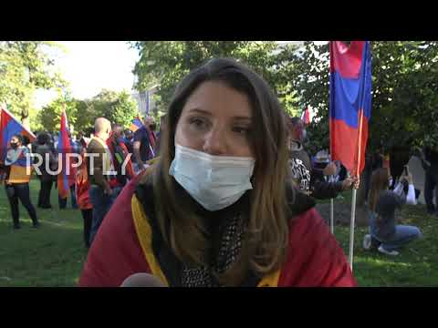 USA: Armenians protest 'Azeri aggression' in DC rally