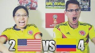 Reacción Estados Unidos vs Colombia 2-4 (11/10/18) Amistoso 2018