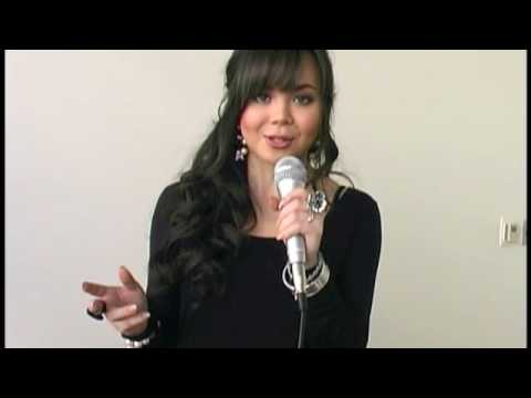 Anna Maria Perez de Tagle gets JoBro'd by Joe Jonas and Demi Lovato on Camp Rock 2 set!