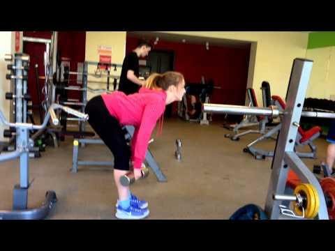 Фитнес-будни. Тренировка ног и ягодиц