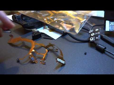 Original Sony RX100 replacing the lens cables