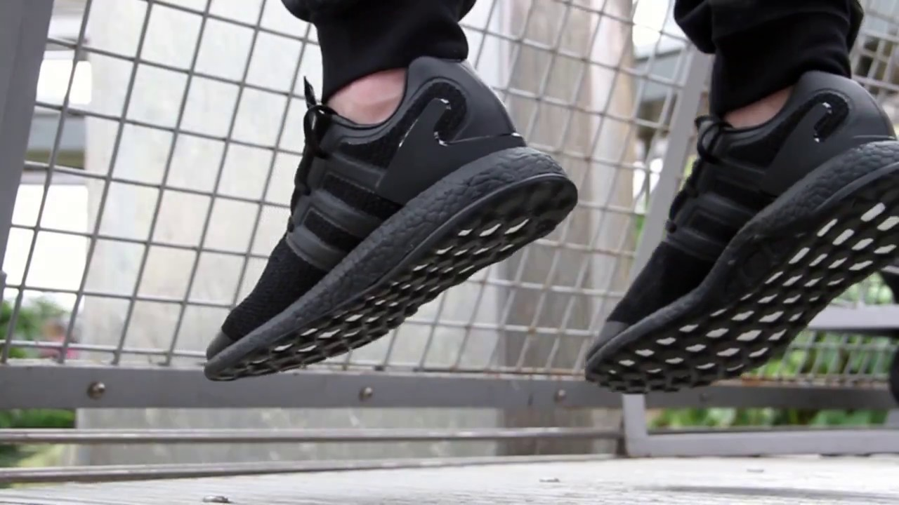 72443639e64e Y3 Pureboost Triple Black Sneakers