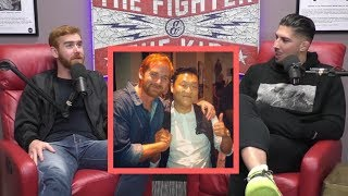 Andrew Santino Parties with Psy | The Fighter and The Kid Clips