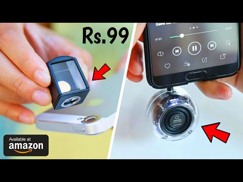 10 COOLEST GADGETS AVAILABLE ON AMAZON | Cool Gadgets Under Rs99, Rs500 And 5k
