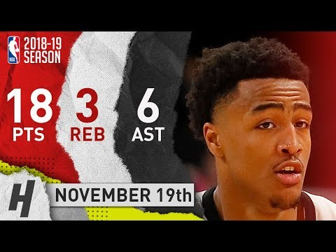 John Collins Full Highlights Hawks vs Clippers 2018.11.19 - 18 Pts, 6 Ast, 3 Rebounds!