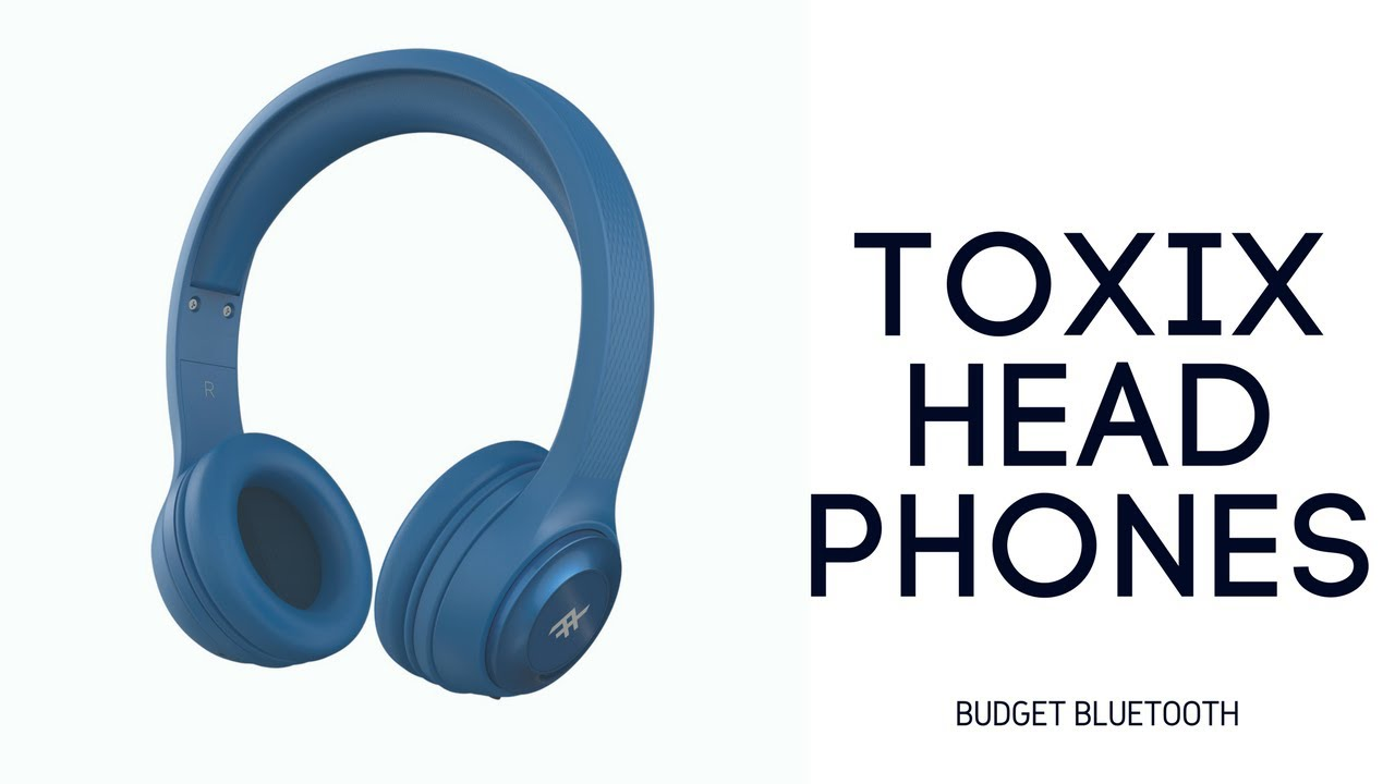 b7ca581db1a iFrogz Toxix Bluetooth Headphones Hands On Review - YouTube