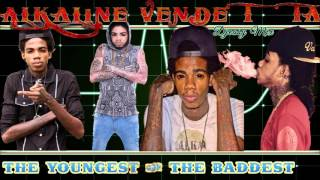 Alkaline Mixtape 2016 Unlocked  (The Youngest & The Baddest Unlocked) mix by djeasy