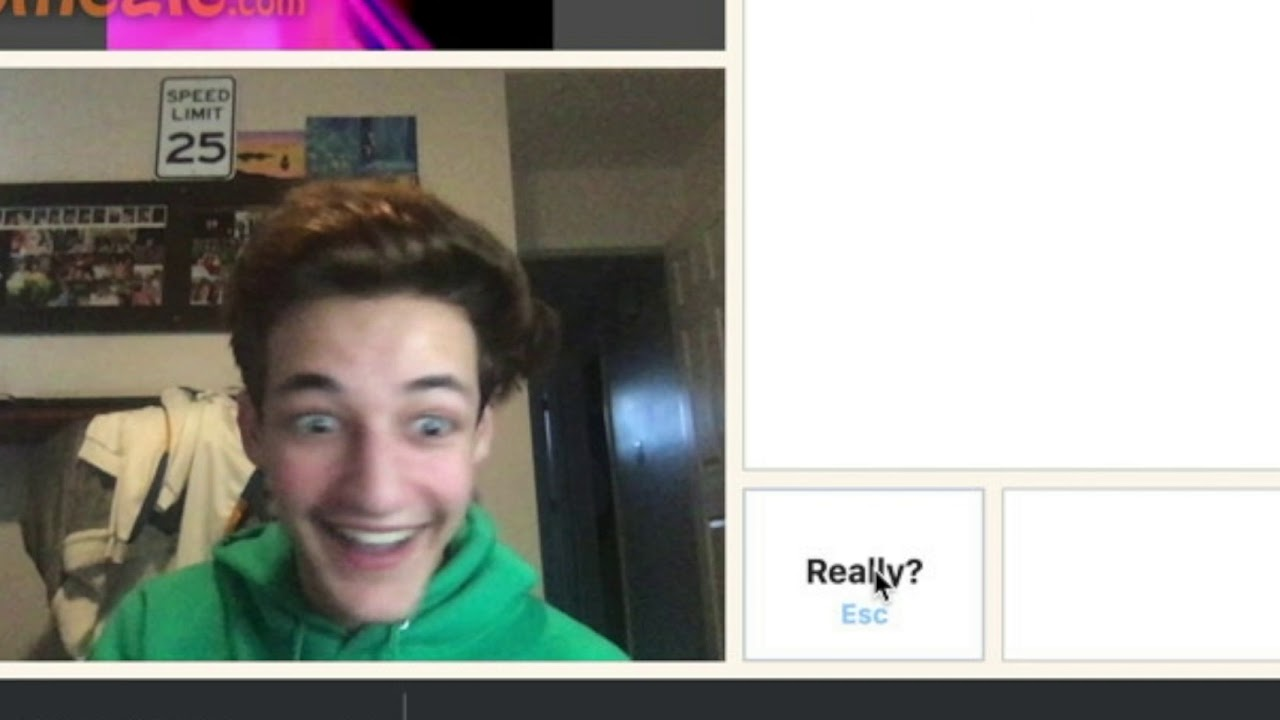 WENT ON OMEGLE AND DIED - YouTube