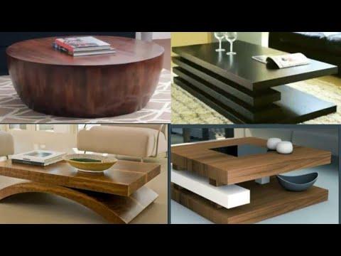 Wooden Center Table Design Ideas For