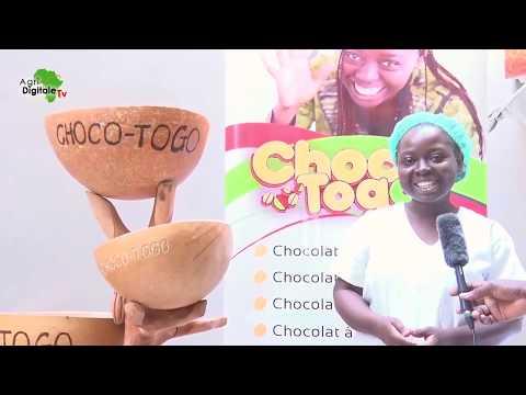 Togo- Du bon chocolat à partir de la matière première locale