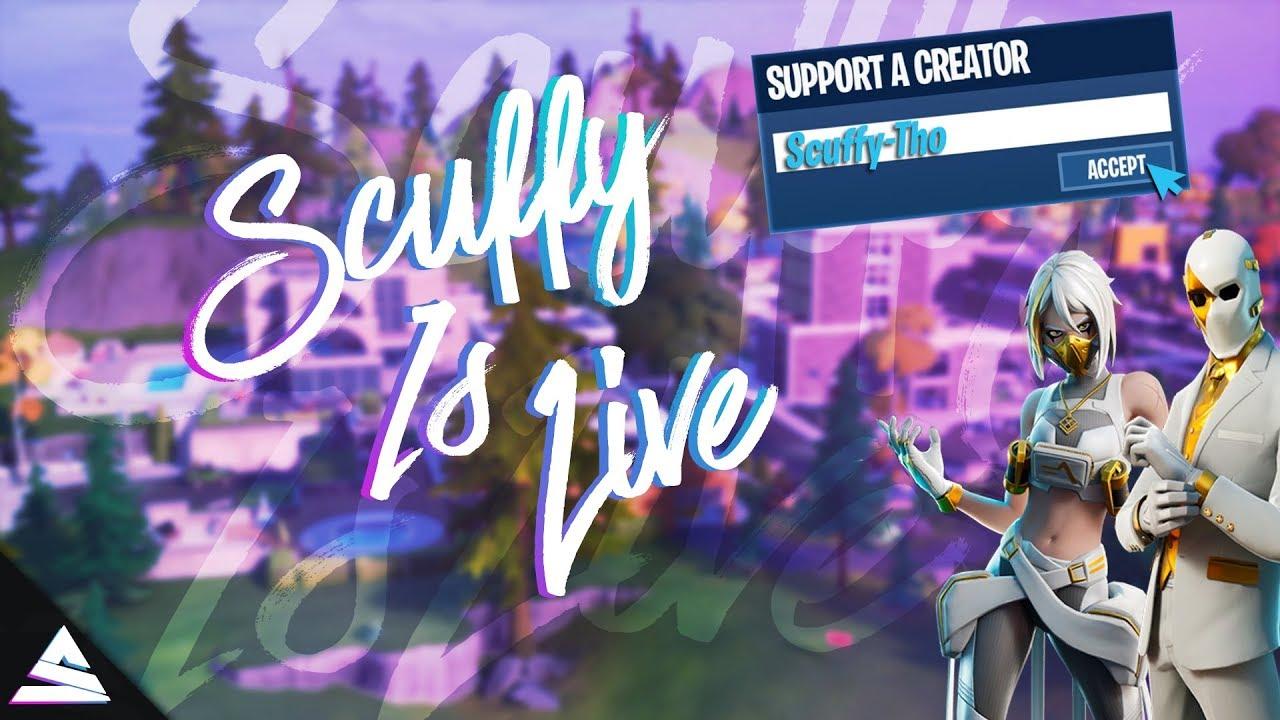 💜💙🤍 Chill Fortnite Stream Live!! 🔥 !giveaway !merch 💜💙🤍