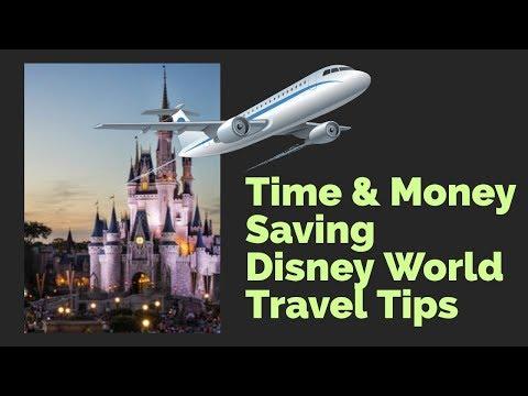 Time & Money Saving Disney World Travel Tips