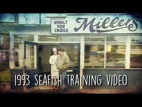 Millers Fish And Chips - Seafish Training Video In 1993