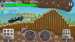 Hill Climb Racing Police Car With Unlimited Fuel