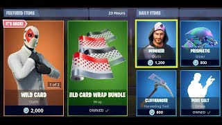 Wild Card is back! Fortnite March 14 Item Shop!