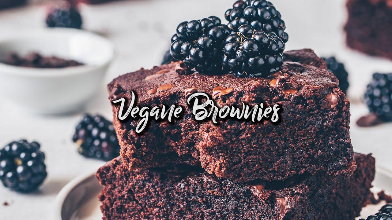 Die Besten Brownies - Rezept - vegan, einfach & saftig