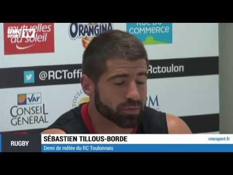 """Rugby / Tillous-Borde : """"Le jour où ils vont jouer ensemble ça va faire mal"""" 09/10"""