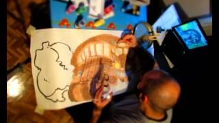 Time lapse: Dibujando el Gatobus