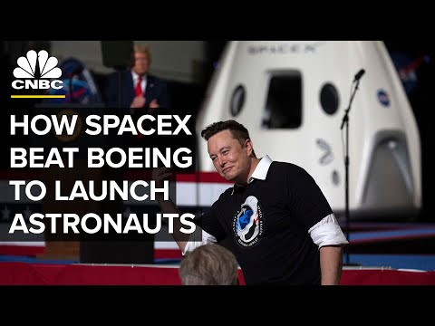 How SpaceX Beat Boeing In The Race To Launch NASA Astronauts