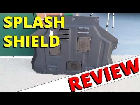 SPLASH SHIELD Review - Jinke (Ali-Express): HOW TO ESCAPE