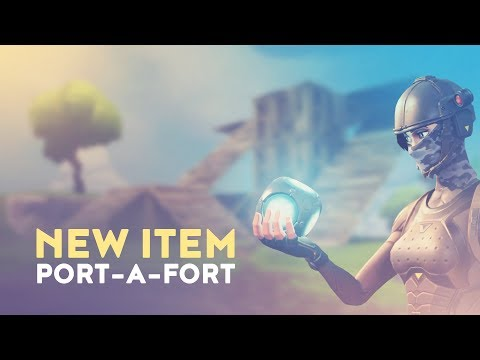 PORT-A-FORT + NEW REPLAY SYSTEM (Fortnite Battle Royale)