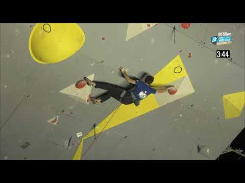 IFSC Climbing World Cup Briancon 2017   Lead   Finals   Men   Romain Desgranges mp4