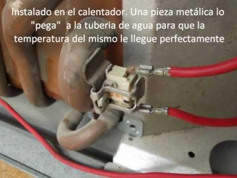 Calentador de agua a gas Como funciona el limitador de