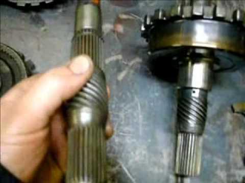 taking apart TH350 trans