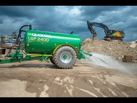 Dust Suppressors for Quattro UK - MAJOR Industrial Tanker Solutions