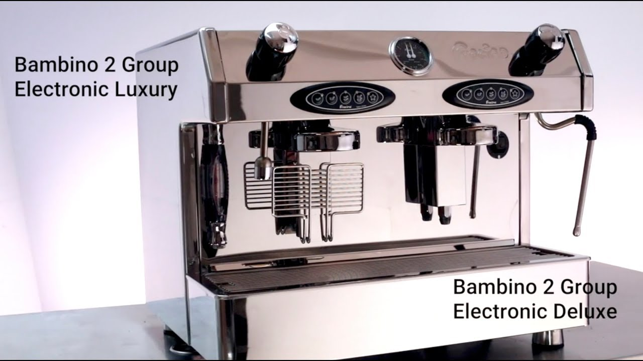 Fracino Bambino 2 Group Automatic Espresso Coffee Machine Bam2e
