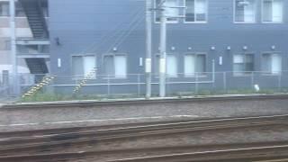 鹿児島本線(普通列車)車窓[1/2]鹿児島中央→伊集院/ 817系 鹿児島中央700発(川内行)