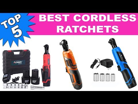 best cordless ratchet 2020 Top 5 Best Cordless Ratchets 2019   YouTube
