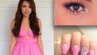 PROM PERFECT Make-up ,Hair and Nails !!! Thumbnail