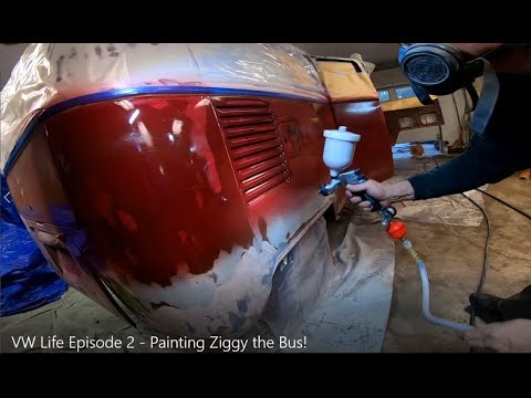 VW Life Episode 2 - Painting Ziggy the Bus!
