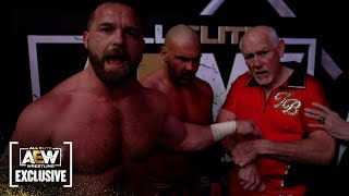 Exclusive FTR, Tully Blanchard and JJ Dillion post match interview   AEW Dynamite