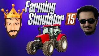 Çiftliğe Dönüş   Farming Simulator 15 Türkçe Multiplayer   3. Sezon Bölüm 1