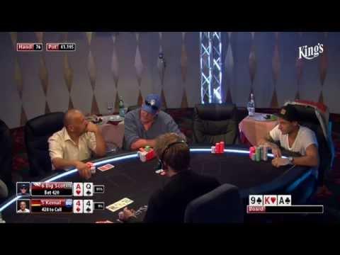 CASH KINGS E19 2/2 - DE - NLH 5/10 ante 5 - Live cash game poker show