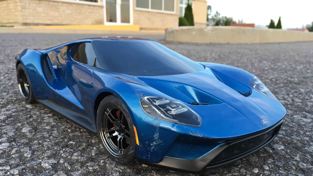 Traxxas Ford Gt   Gps Speed Test With T Pinion Netcruzer Rc