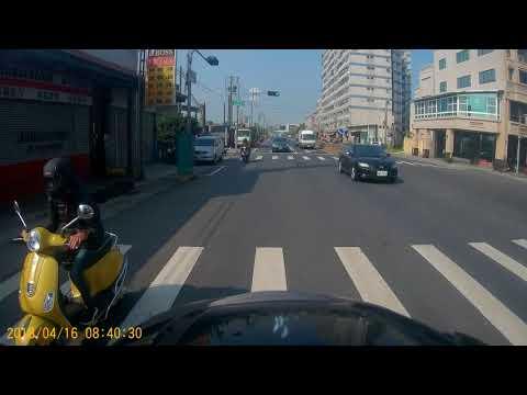白牌左轉靠左_違規!騎車:盡量守規矩,謝謝你!