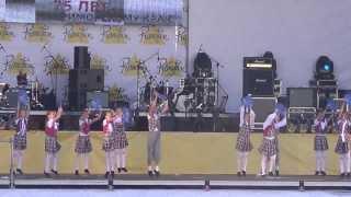 Ансамбль эстрадного танца Капельки - Большая перемена.Владивосток 20 октября 2013 Primotion.