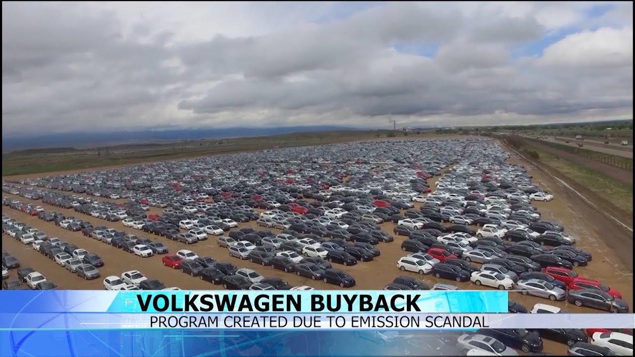 Vw Buyback Program >> Volkswagen Parking Lot