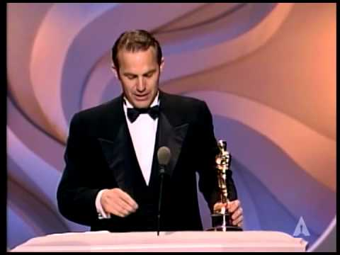 Kevin Costner Wins Best Directing: 1991 Oscars