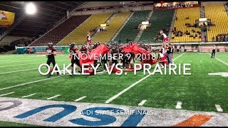 Highlights: Oakley vs. Prairie Football