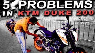 5 Reasons Not To Buy a 2017 KTM DUKE 200 | 5 Problems | Ownership Review