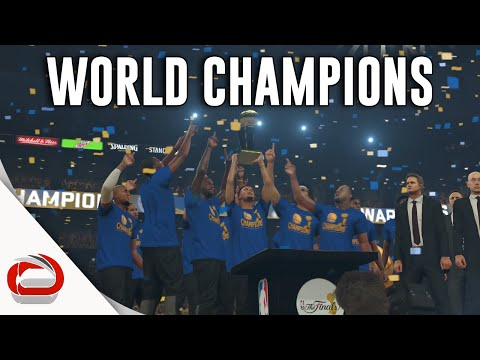 GOLDEN STATE WARRIORS - NBA CHAMPIONS - NBA 2K17