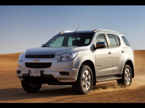 Новый Chevrolet TrailBlazer 2013 2014 года. Презентация.